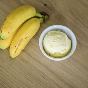Banaan roomijs