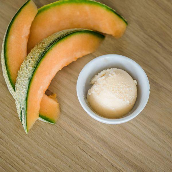 Meloen-sorbet